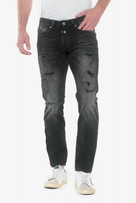 Gazhar 700/11 slim jeans destroy black N°1