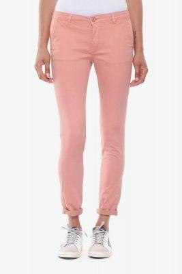 Pantalon chino Lidy8 rose