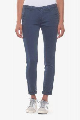 Pantalon chino Lidy8 bleu marine