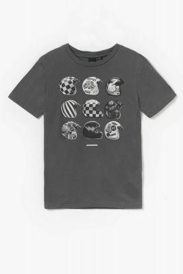 T-shirt Cantobo gris imprimé