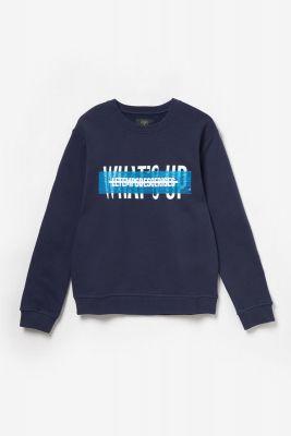 Sweat Torybo bleu marine imprimé