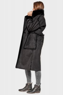 Manteau Ambra noir
