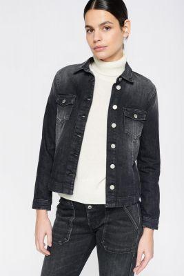 Veste Lilly en jeans noir
