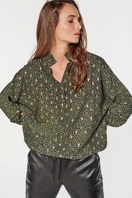 Khaki Peppers blouse