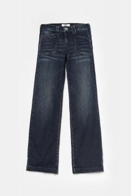 Jeans Flare bleu-noir N°2