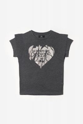 T-shirt Graciegi gris imprimé