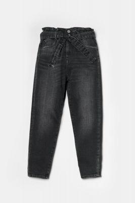 Milina boyfit jeans noir N°1