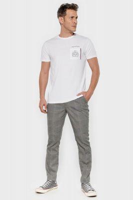 T-shirt Boly blanc brodé