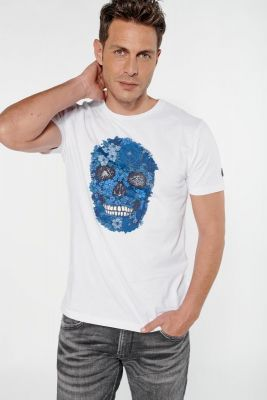 Printed white Colima t-shirt