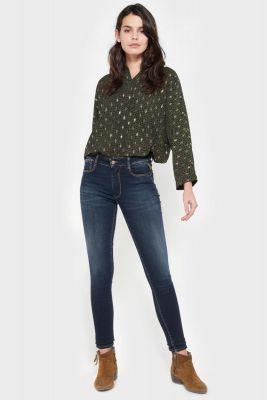 Naples pulp slim taille haute jeans bleu N°1
