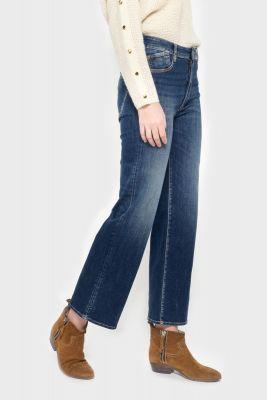 Pulp droit taille haute 7/8ème jeans bleu N°2