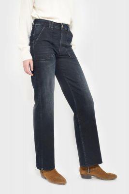 Salti pulp droit taille haute jeans bleu-noir N°1