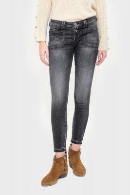 Scot power skinny 7/8ème jeans gris N°1