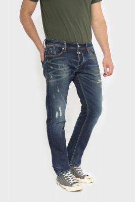 Groov 700/11 slim jeans destroy vintage blue N°1