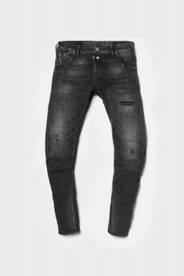 Alost tapered arched jeans black N°1