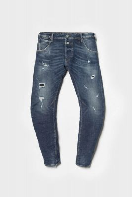 Alost tapered jeans bleu N°2