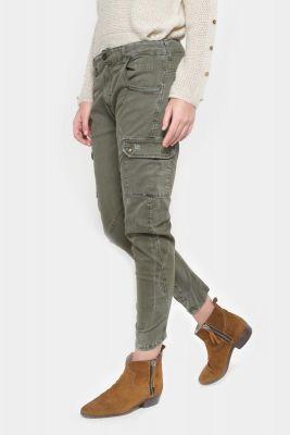 Pantalon cargo 7/8 ème Rivera kaki