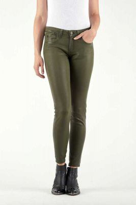 Jeans 300/16 Slim Effet Cuir Khaki