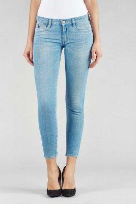 Jeans Power court Skinny Bleu Clair
