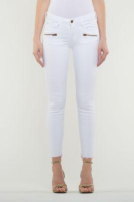 Jeans Power 7/8ème Skinny blanc