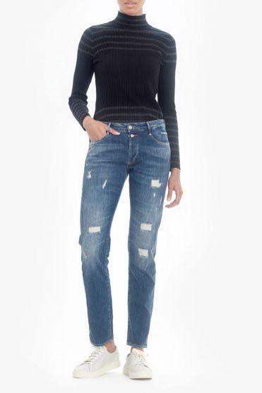 Yuma 200/43 boyfit Jogg jeans destroy blue N°2