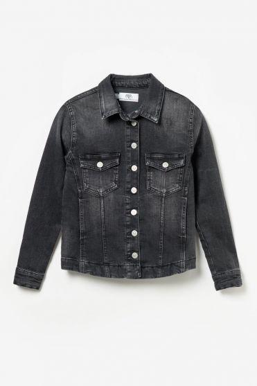 Black denim Anyos jacket