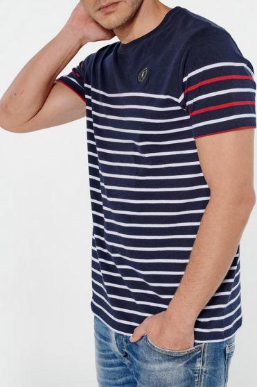 T-shirt Volta marinière