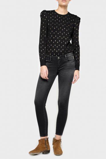 Coro ultra power skinny 7/8th jeans black N°1