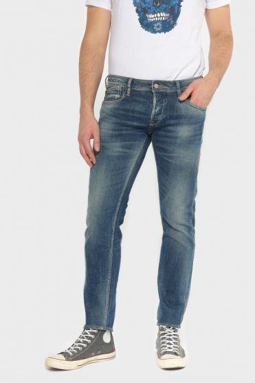 Basic 700/11 slim jeans vintage bleu N°2
