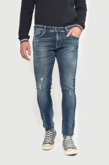 Jogg 700/11 slim jeans destroy vintage blue N°2