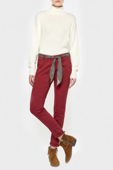 Pantalon Lidy rouge