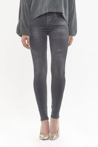 Jeans Power Skinny Taille Haute Orea