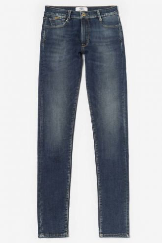 Power slim jeans taille haute bleu N°2