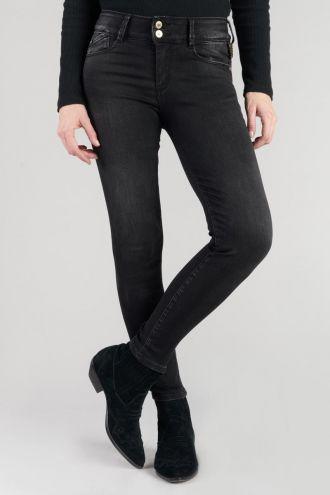 Bari ultra pulp slim taille haute 7/8ème jeans noir N°1