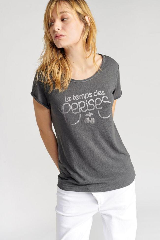 Charcoal grey Basitrame t-shirt