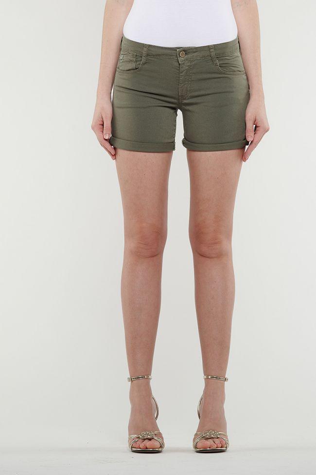 Khaki Janka denim shorts