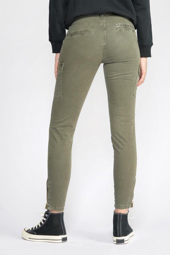 Army slim khaki trousers