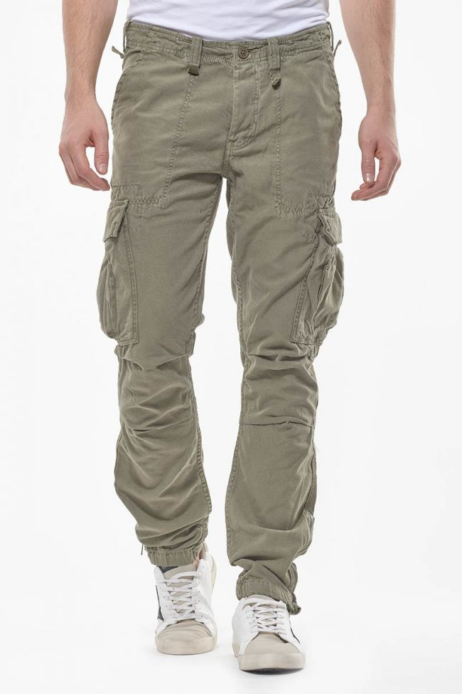 Khaki Mirado cargo trousers