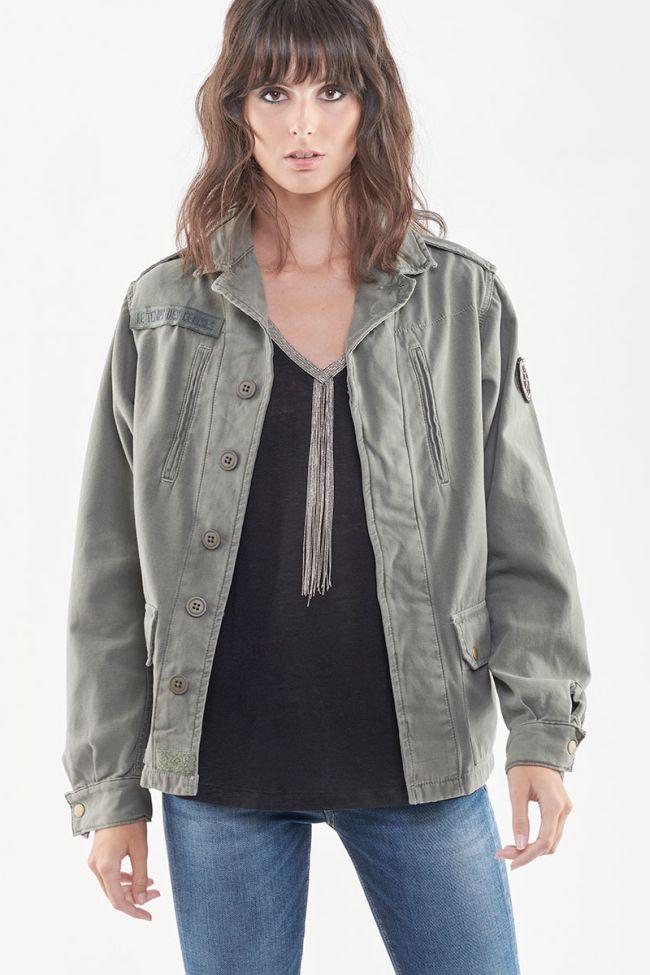 Militarie khaki unisex jacket