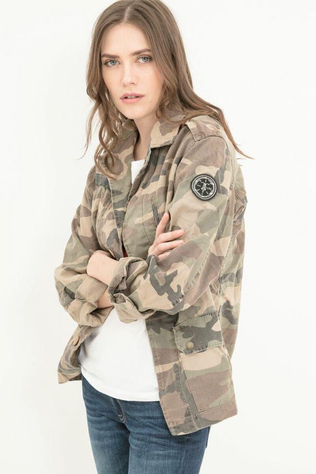 Veste Unisexe Militarie camouflage