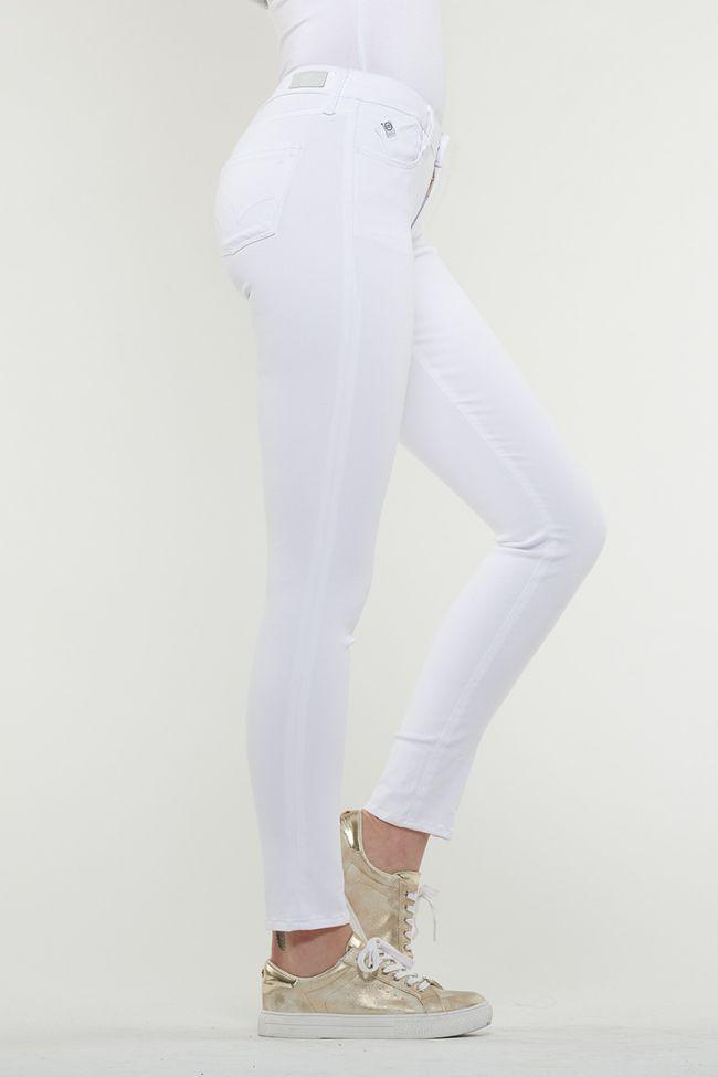 Ultra Power Skinny White Jeans