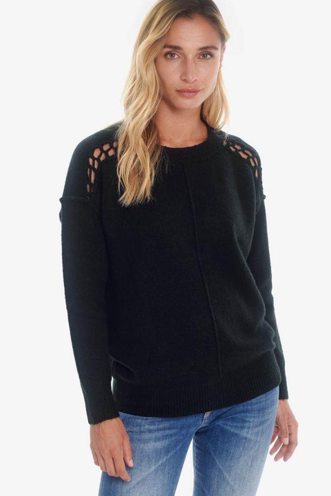 Elena black Pullover