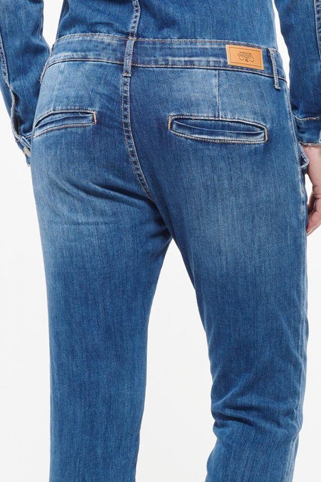 Blue Sena jeans jumpsuit
