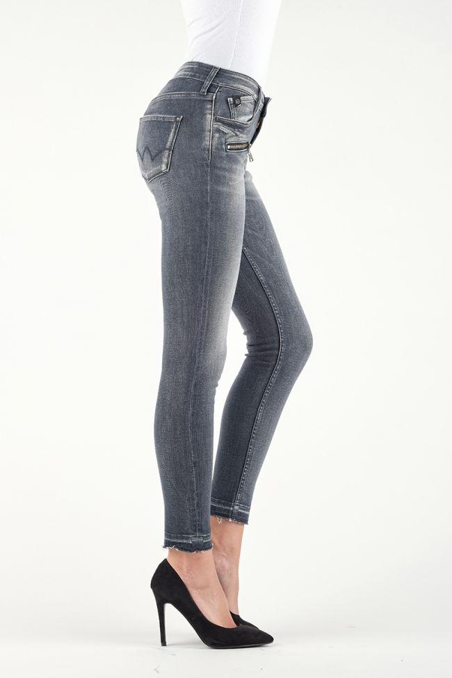 Power Skinny Jeans 7/8th Grey