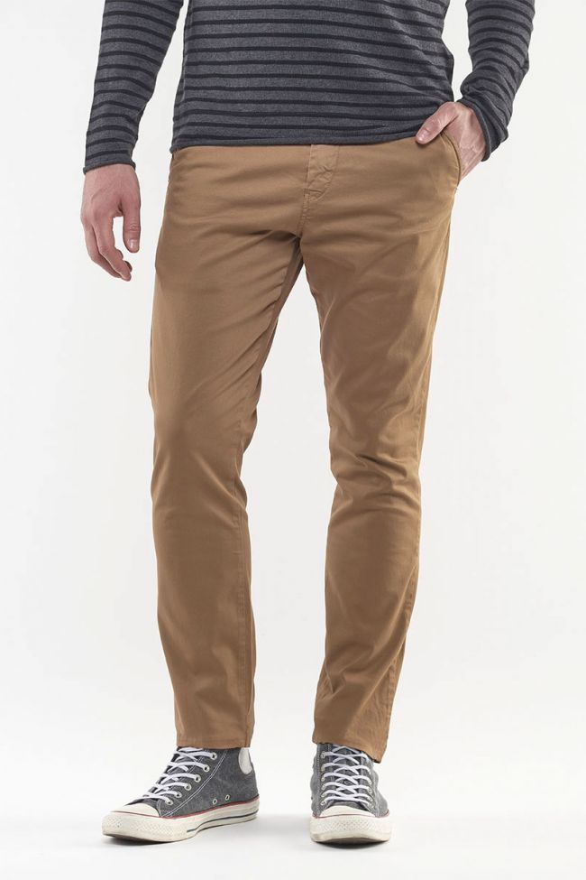 Jas Camel Chino Trousers