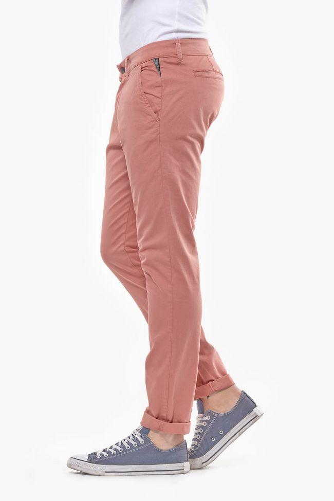 Pink down Chino pants Jas