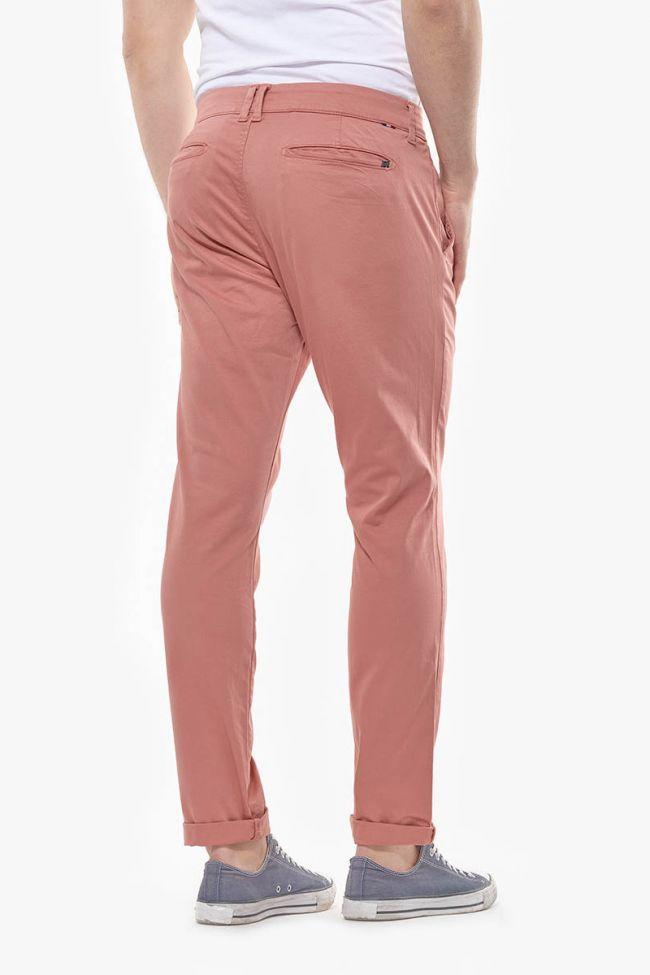 Pantalon Chino Slim Jas Pêche