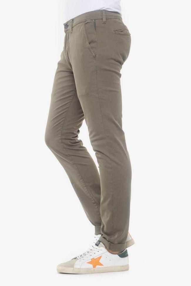 Jas Khaki Chino Trousers
