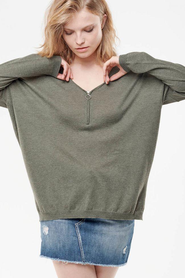 Bring khaki pullover