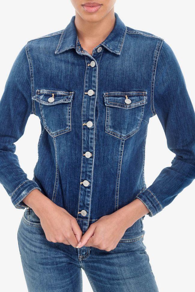 Lilly blue denim jacket